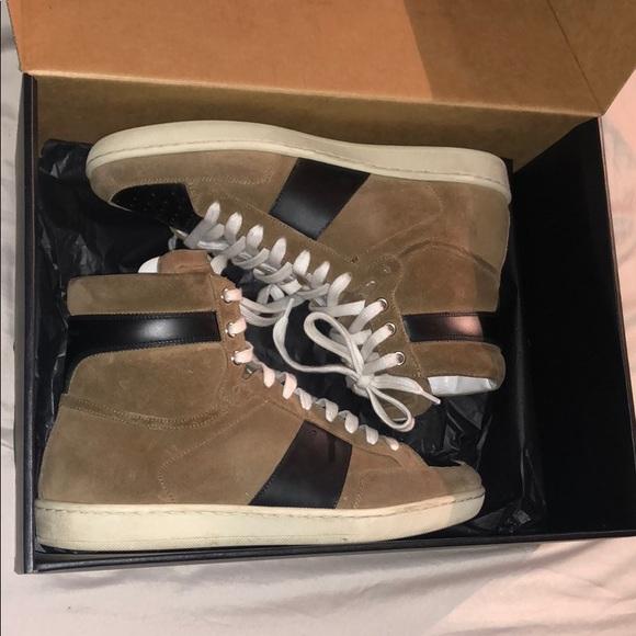 5f88ed7fb Saint Laurent Shoes | 100 Authentic Saintlaurent Sneakers | Poshmark